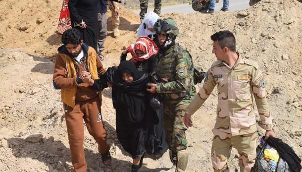 Isis impedisce civili Falluja di fuggire
