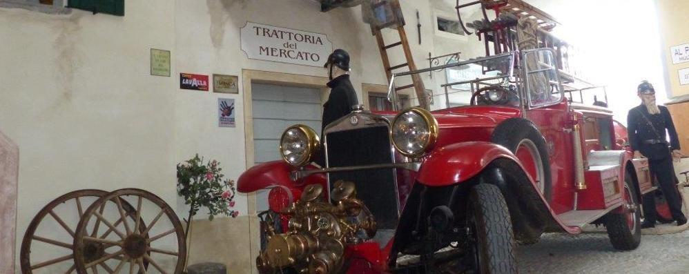 Museo dei pompieri a Chiavenna  Esposta una rarità