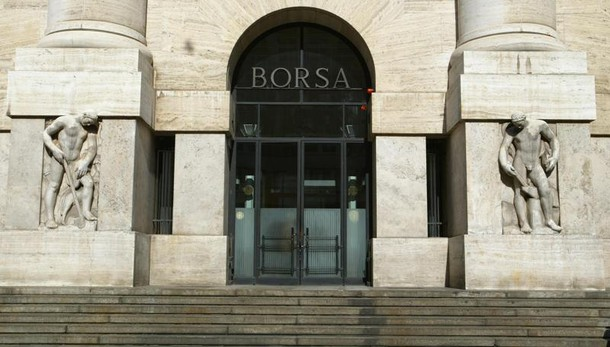 Borsa Milano in calo, Ftse Mib -1,19%