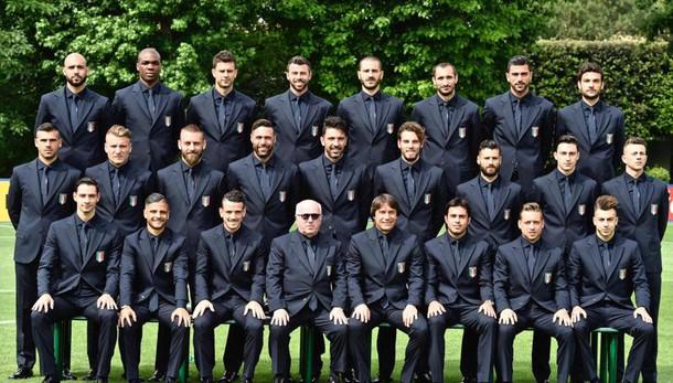 Euro 2016: azzurri, ecco foto ufficiale