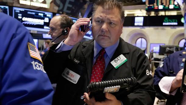 Wall Street apre in calo, Dj -0,59%