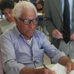 A 81 anni fa l'esame di terza media  «Ho raccontato la mia vita»