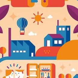 Energia pulita, un poster spiega  tutti i passaggi