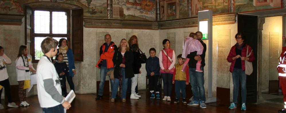 Rivoluzione del  turismo a Teglio  Tutte le domeniche visite a palazzo Besta