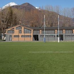 Club house tutta nuova per il rugby