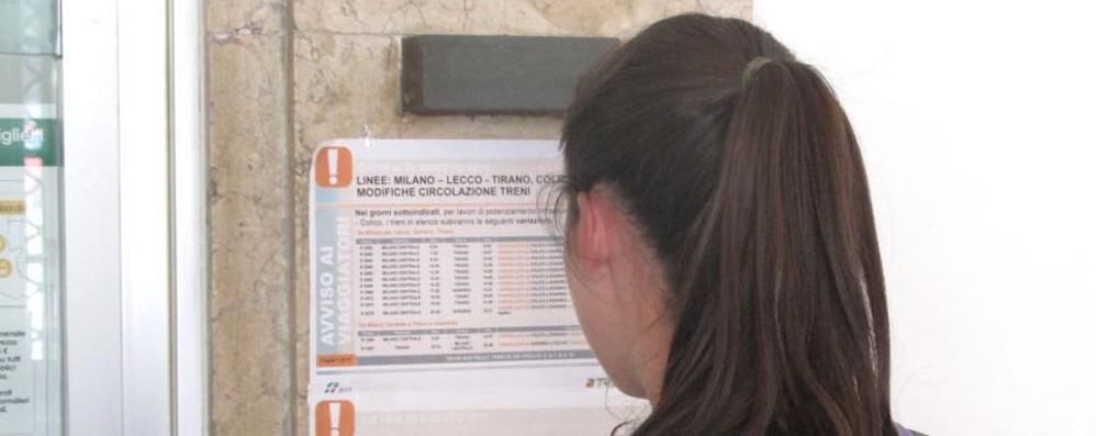 Sondrio - Colico, bus al posto dei treni  «Queste corse locali sono poco usate»