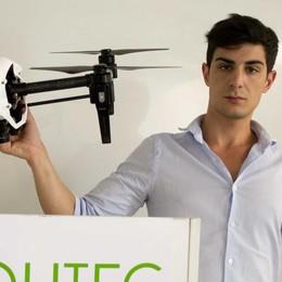 Ecco la start up che usa i droni per studiare la Valle