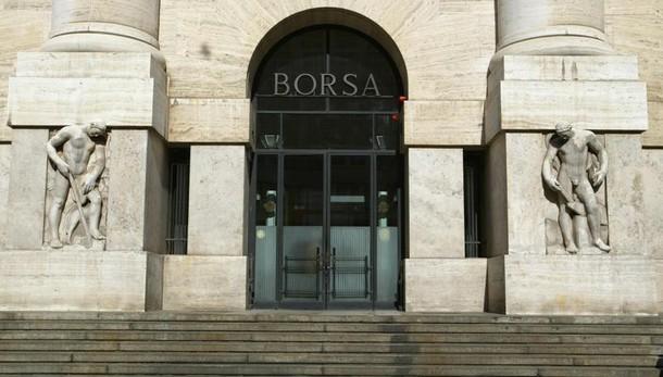 Borsa Milano in calo, Ftse Mib -1,73%