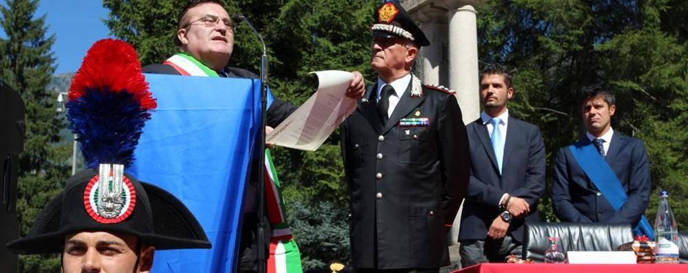 Campodolcino, cittadinanza onoraria ai Carabinieri