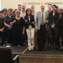 D'Aietti lascia il Tribunale e saluta  «Questi otto anni come uno tsunami»