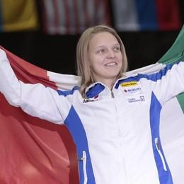 La Fontana è decisa: «Il mio sogno? Portare la bandiera alle Olimpiadi»