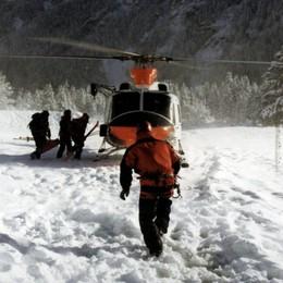 Escursionista disperso sul Legnone  Ore d'angoscia per un giovane