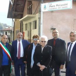Ora a Buglio c'è la via Piero Melazzini