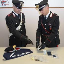 Porlezza, preso con 21 grammi di cocaina  Arrestato spacciatore di 28 anni