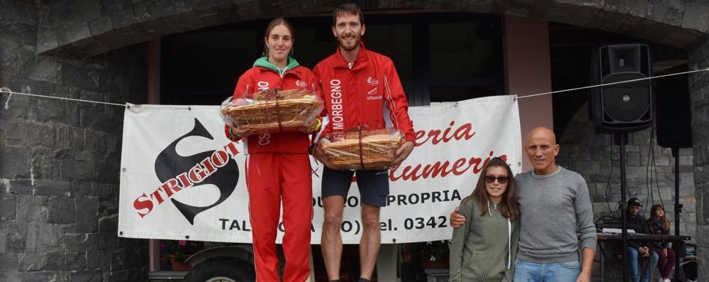 Strigiotti, è un Leoni da record  A Talamona si sfidano in 400