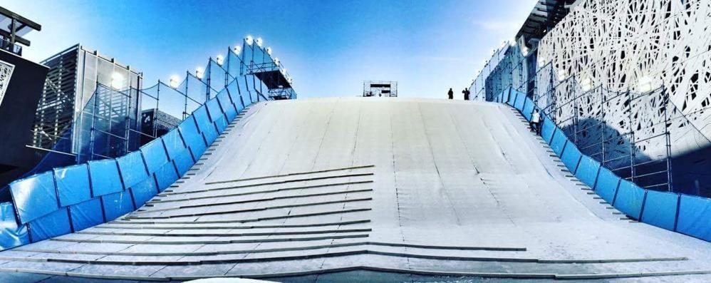 Big Air a Milano, un evento made in Valmalenco
