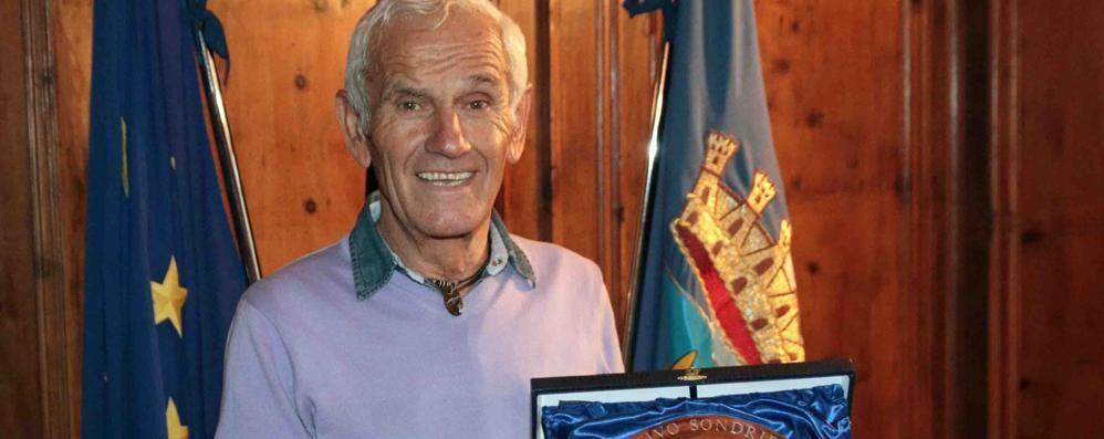 Passione alpinismo. Un altro premio per Camillo Della Vedova