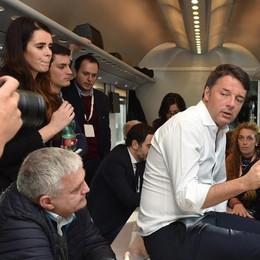 Renzi a Sondrio: «Fisco, dobbiamo fare ancora di più per il taglio delle tasse»