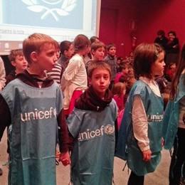 """Le scuole cantano l'inno dell'Unicef   Uno spartito """"Made in Valtellina"""""""
