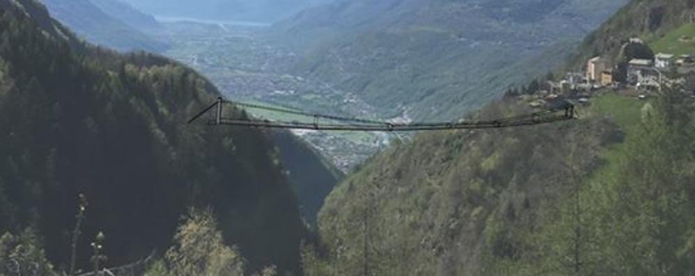 """Con il """"Ponte del cielo"""" a passeggio tra le nuvole: i lavori in primavera"""