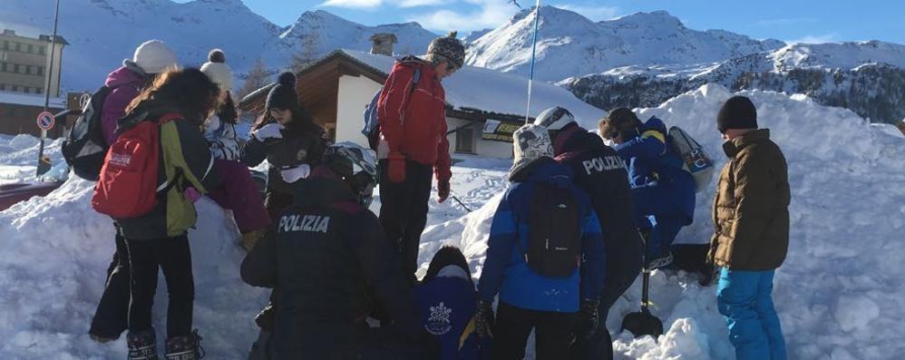 A scuola di sicurezza nella neve  Lezione speciale sulle piste