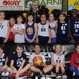 Festa sottocanestro per gli atleti del minibasket dell'Asm 70 Pezzini