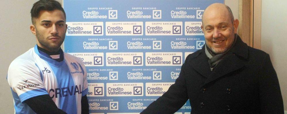 Calcio Eccellenza, altro rinforzo per il Sondrio: arriva Cannataro