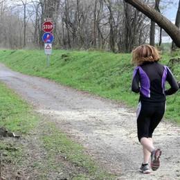 In bici o a piedi dal parco Bartesaghi al sentiero Valtellina