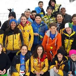 Giochi sulla neve per 300 giovani