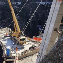 Lavori in Val di Pai per il nuovo ponte  Cambia la viabilità