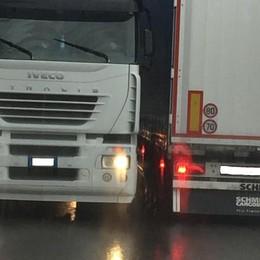 Aprica, Tir bloccati sulla strada  «Lettere ad Anas senza esito»