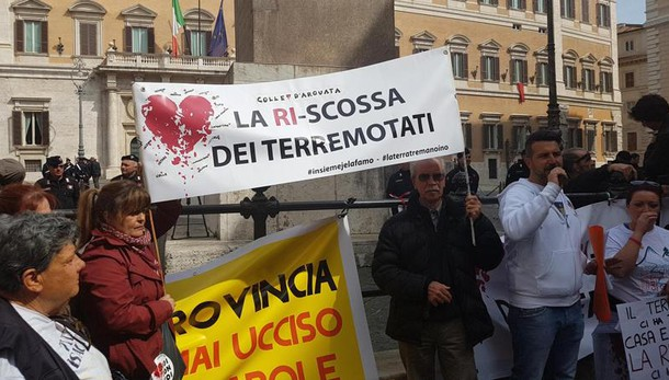 Sos terremotati,pronti a bloccare Italia
