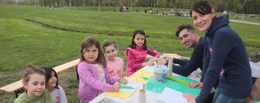 Laboratori e merenda per l'apertura del parco