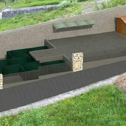 Ecocentro a Verceia, progetto da 107mila euro già cantiere