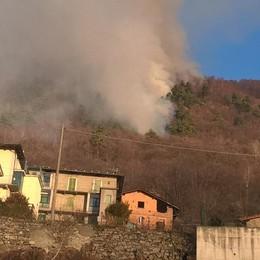 Incendi boschivi, stagione di super lavoro anche in Basa Valle