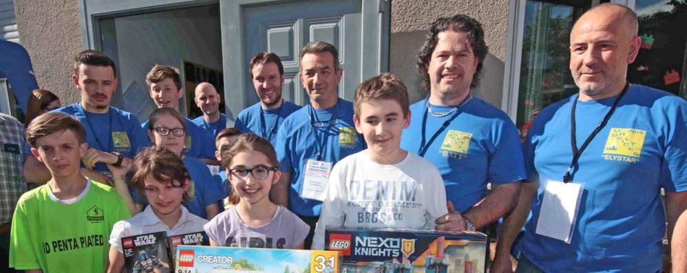 Mattoncini a Montagna, il fascino dei Lego  attira 1700 visitatori