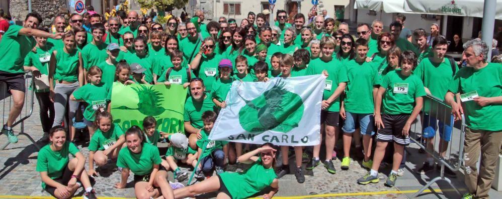 Chiuro si tinge del verde di San Carlo