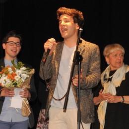 Microfono d'oro a Chiavenna, sbancano i Bianchi