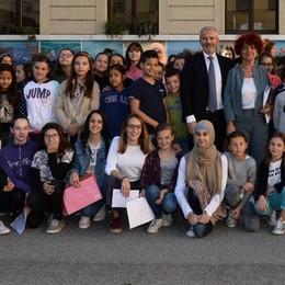 Scuola, la tappa a Morbegno della ministra: «Dove vive l'eccellenza»