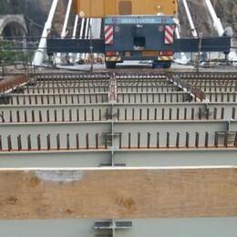 Val di Pai, ora il ponte è una realtà  In dieci giorni il cantiere sarà ultimato