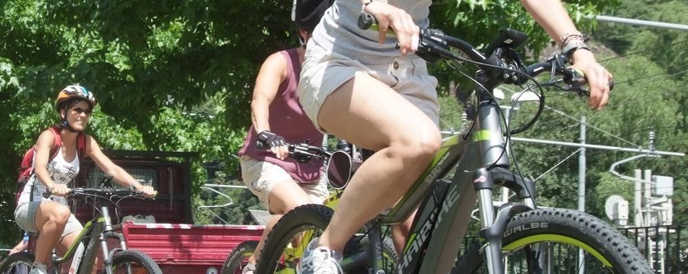 Valchiavenna in rete anche per le biciclette: si noleggia e si pedala