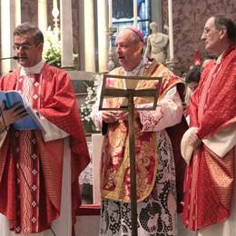 Don Bricola nuovo arciprete in collegiata a Sondrio