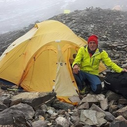 Salvato sull'Himalaya  «Valerio ora sta bene»