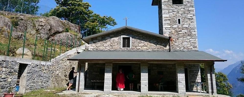 Verceia, appello per la chiesetta nata da un sogno
