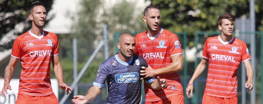 Calcio, successo di prestigio in amichevole del Sondrio contro il Lecco