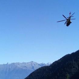 Escursionista infortunato, paura in Val Gerola