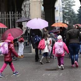 Morbegno, alla Spini Vanoni alunni a scuola da soli