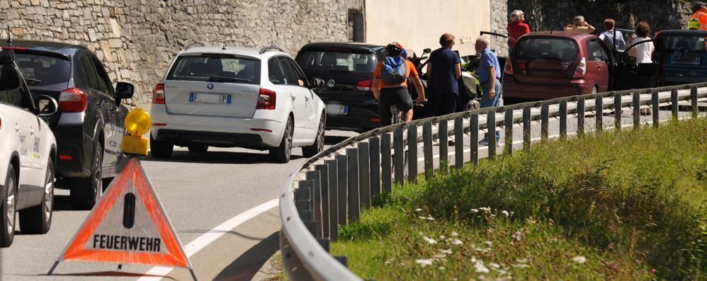 Sistema di allarme supplementare  Riaperta la strada per Sankt Moritz