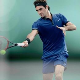 "Federer a Osnago per uno spot  Villa Arese Lucini ""blindata"""