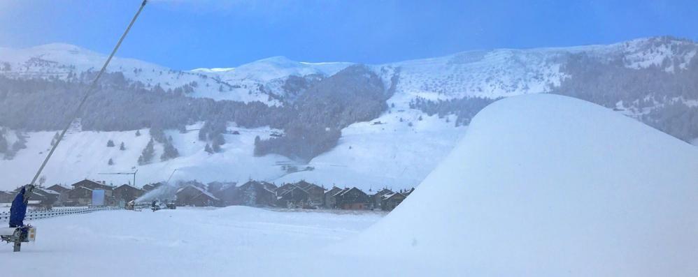 Prosnow all'esordio, neve programmata  senza più sbagliare